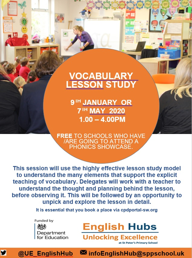 Vocabulary Lesson Study 2020